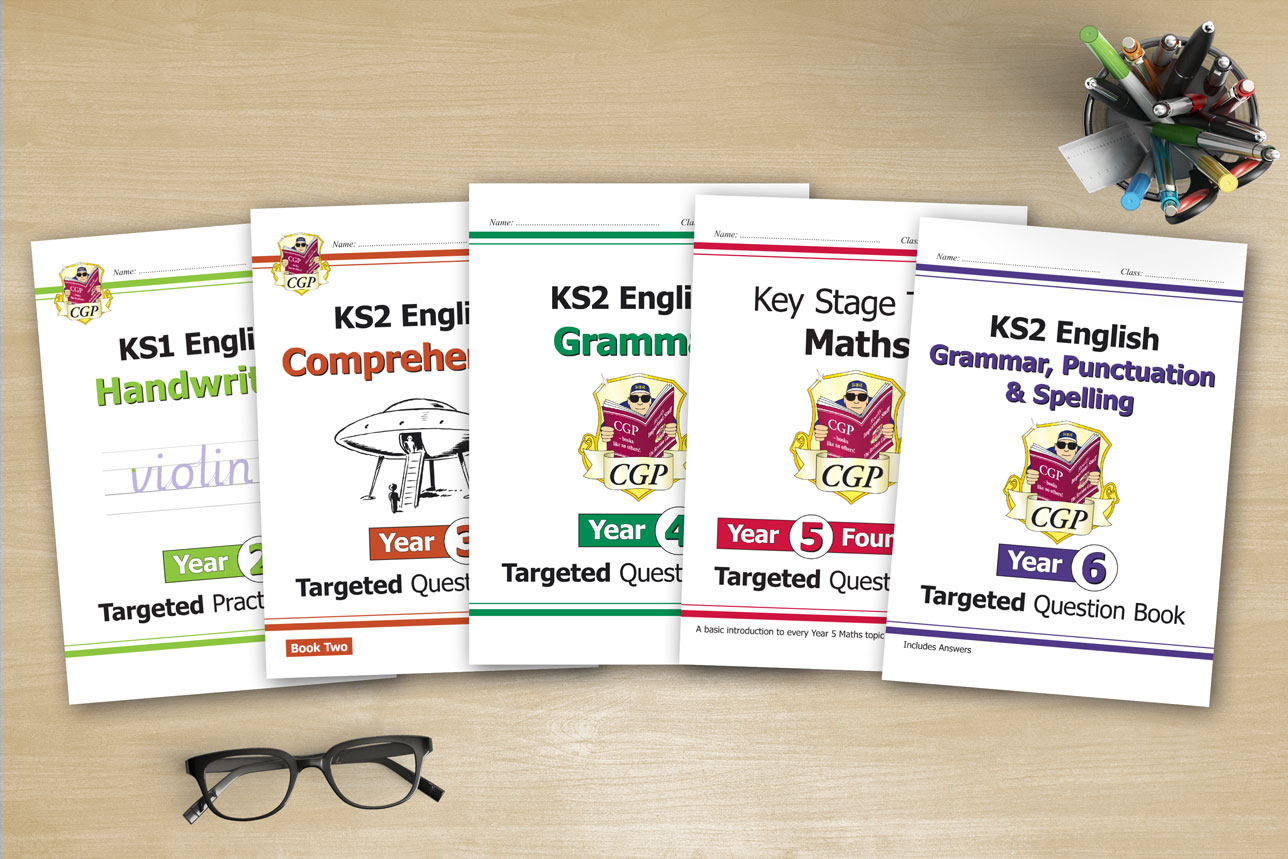 Workbooks for every year of Primary