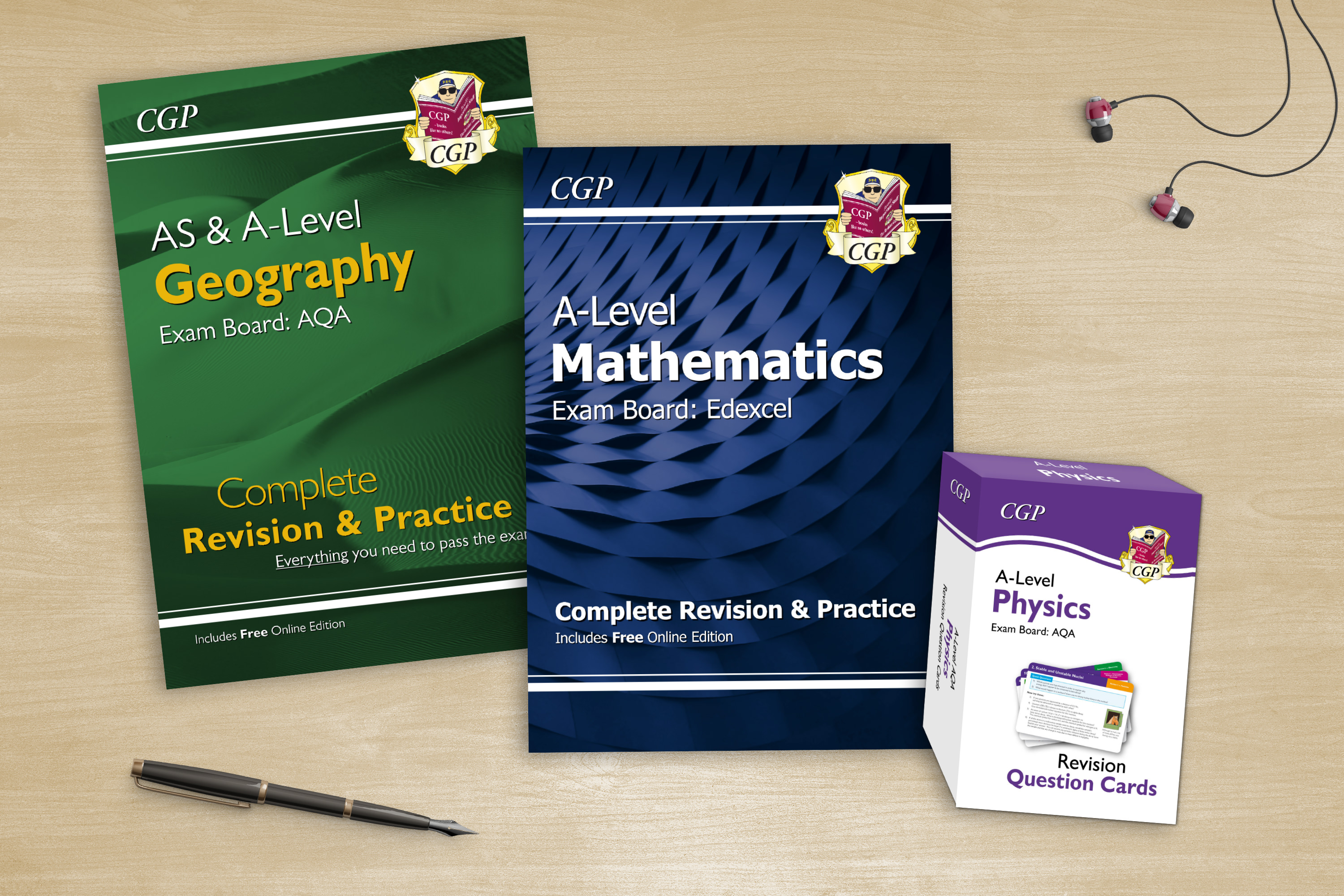 Unrivalled books and cards for A-Level