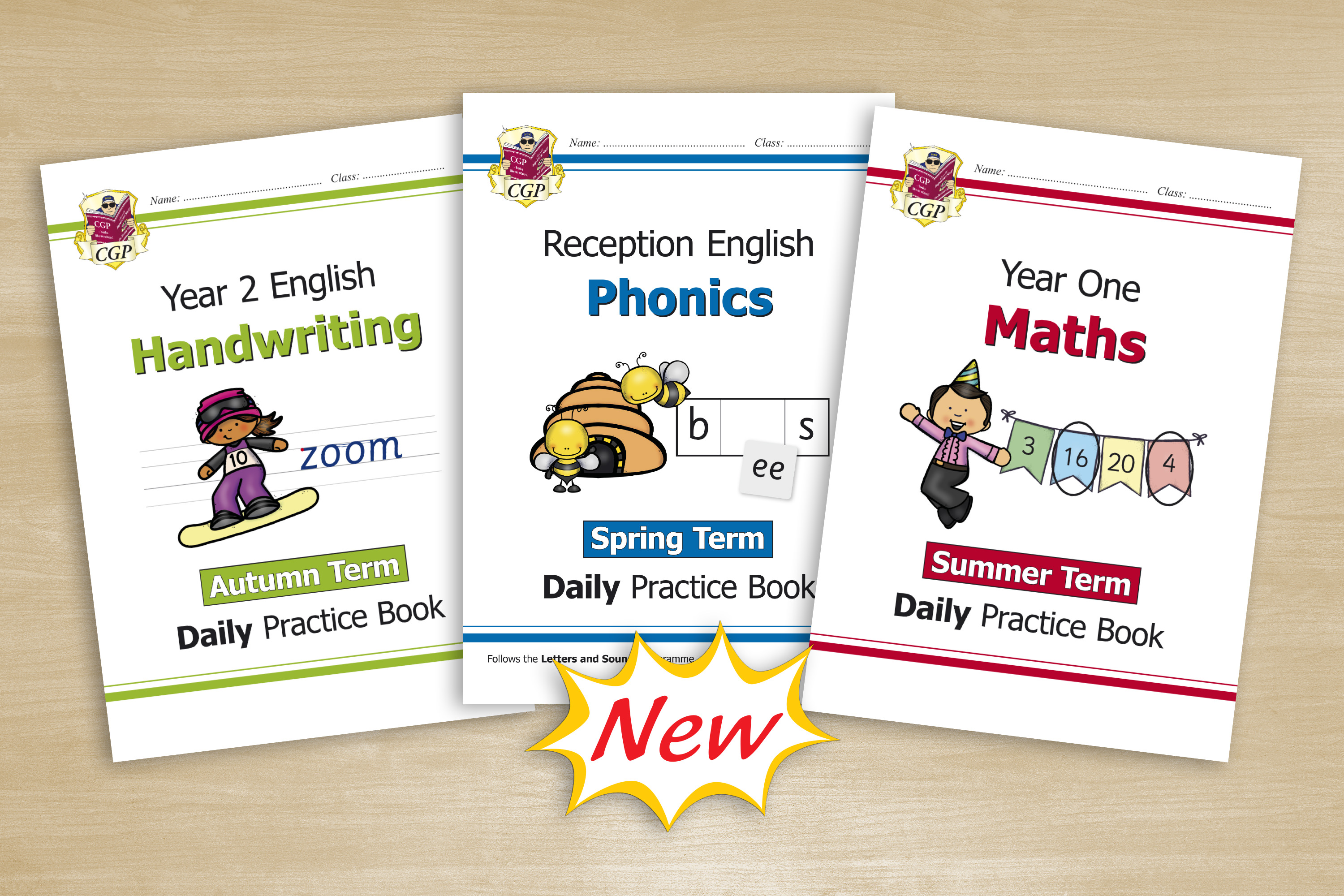 New Reception, KS1 & KS2 Daily Practice
