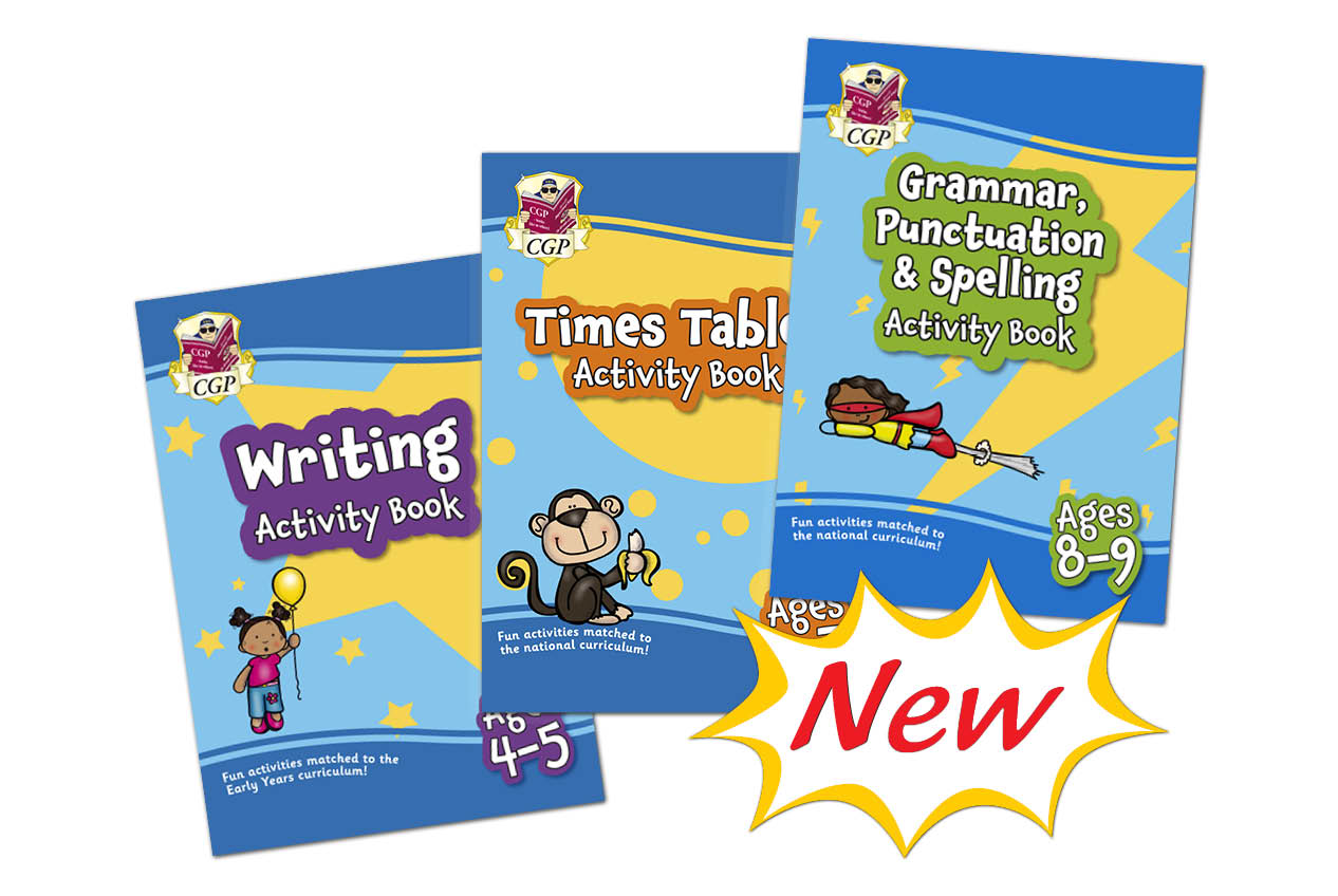 New Primary Activity Books!