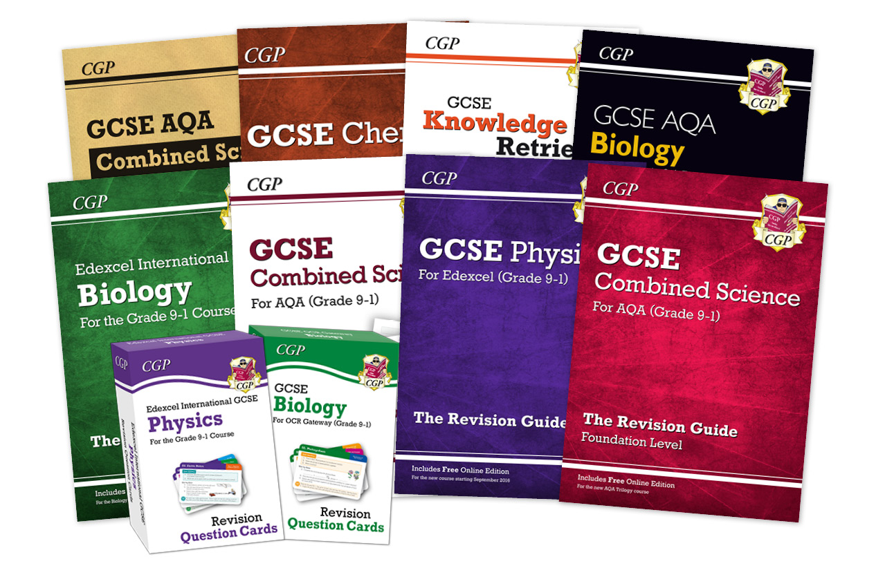 No.1 GCSE Science Books