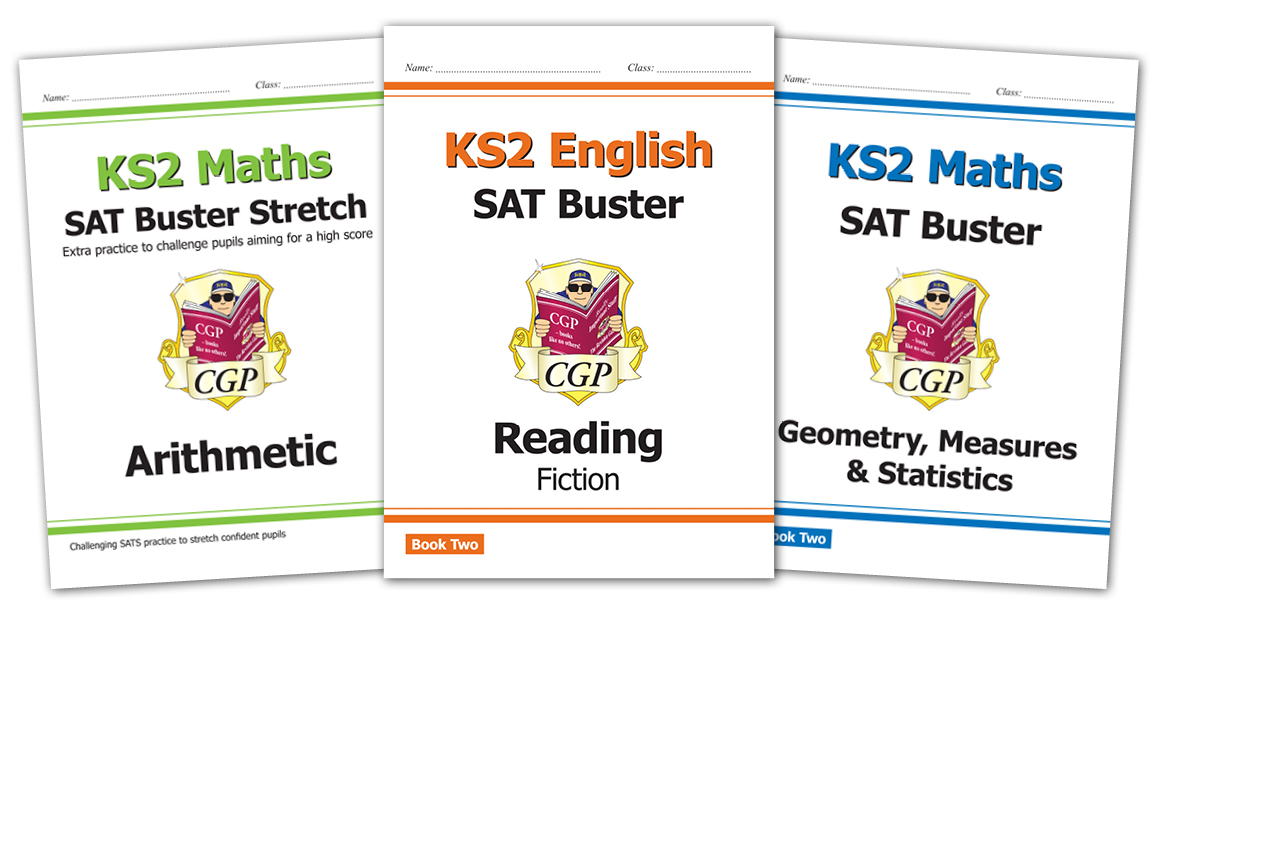 New KS2 SAT Busters from CGP