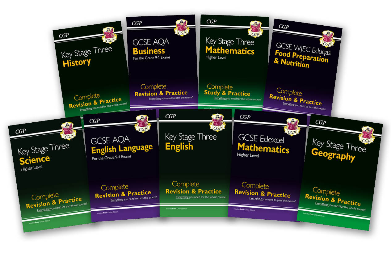 CGP's Complete Revision & Practice books