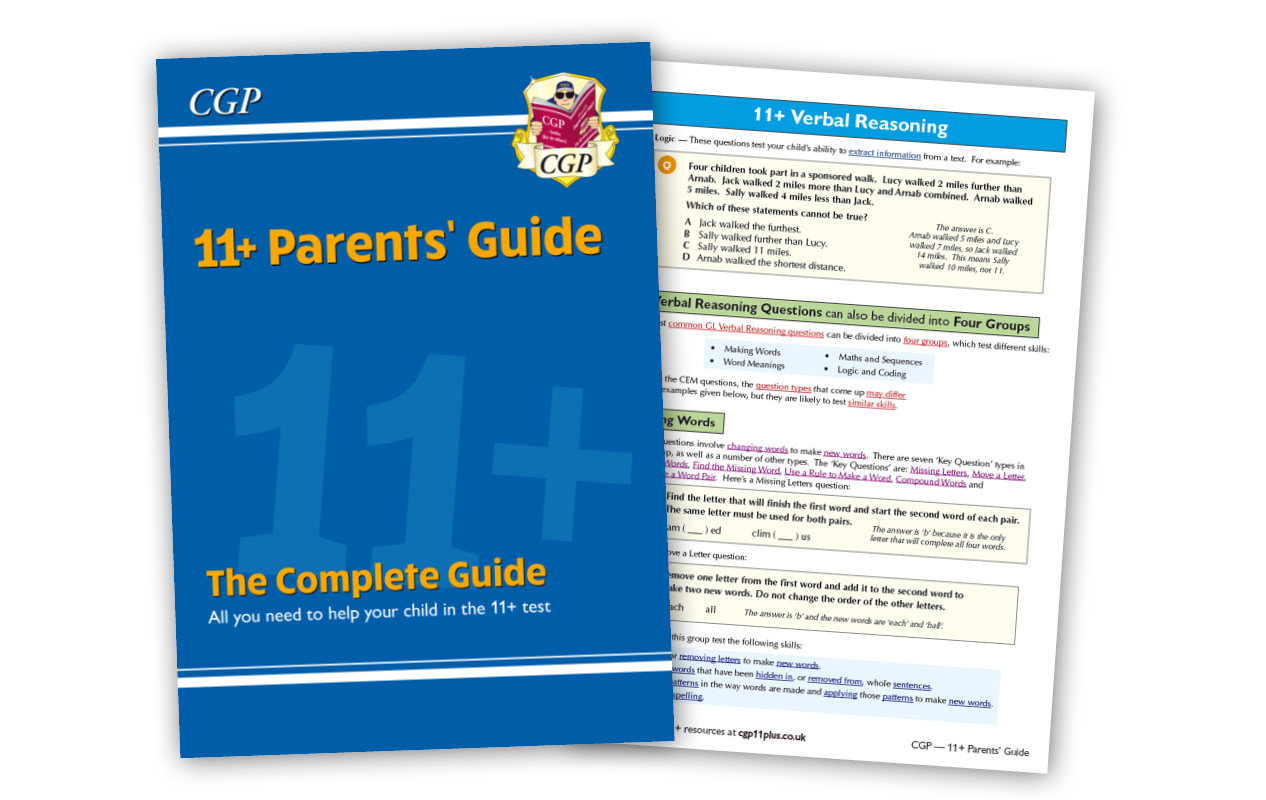 11+ Parents' Guide