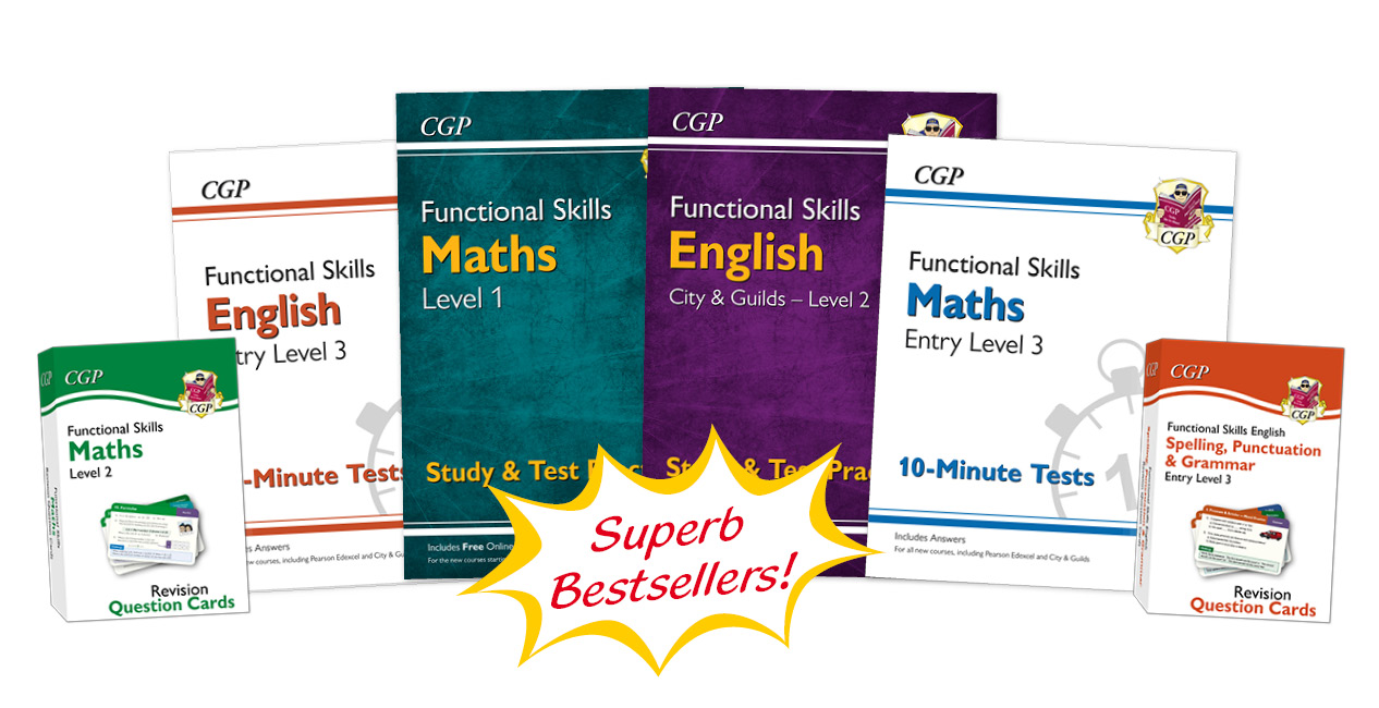 Functional Skills Books and Flashcards