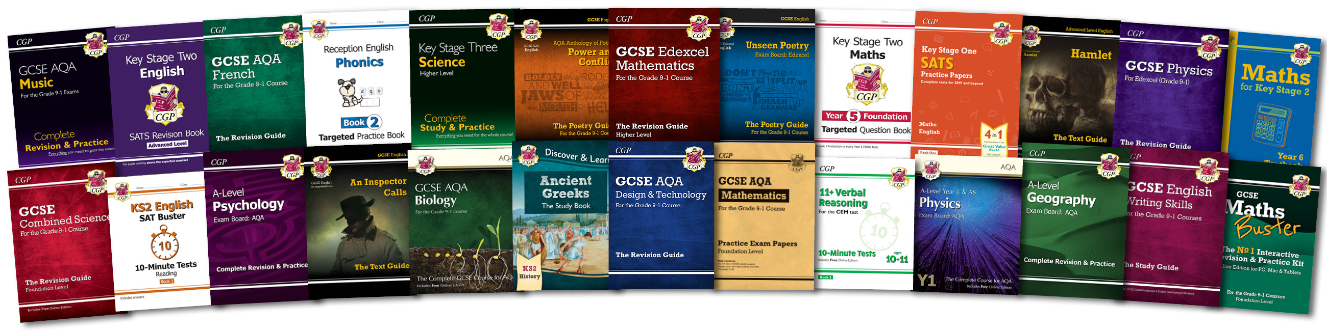 CGP's Amazing Books