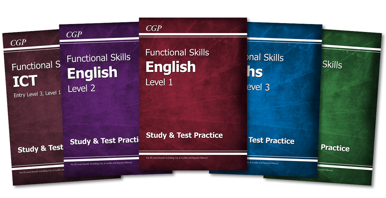 CGP Functional Skills books