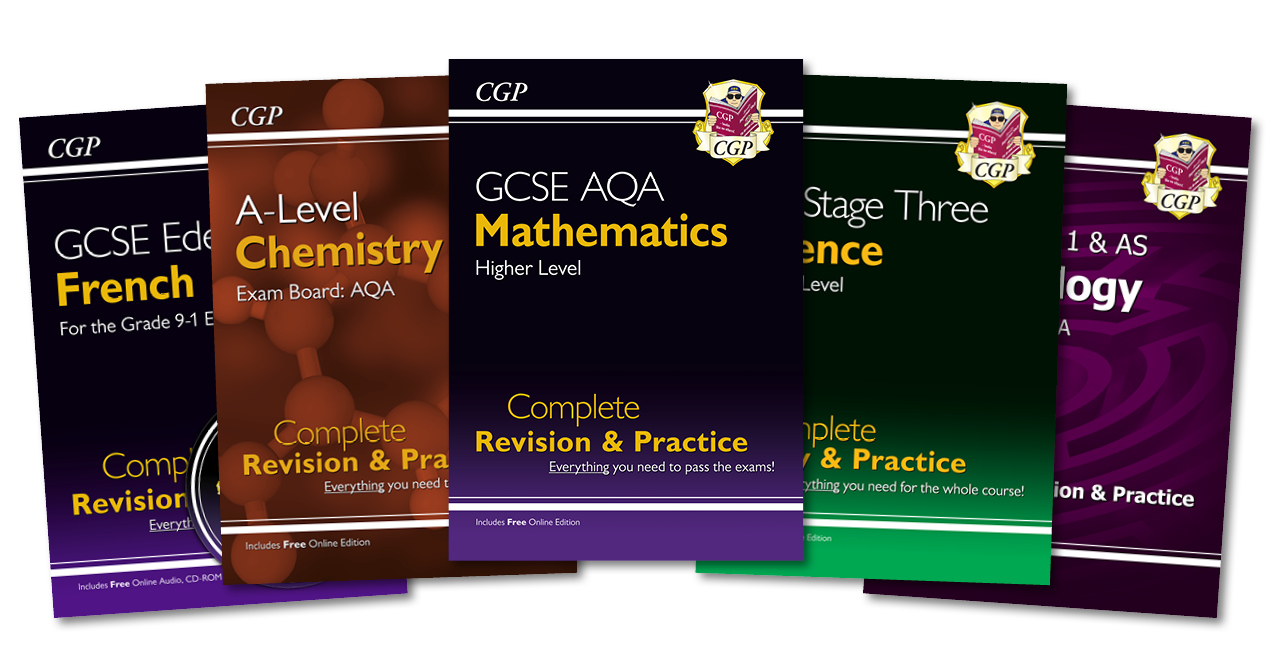 CGP's Complete Revision and Practice Books