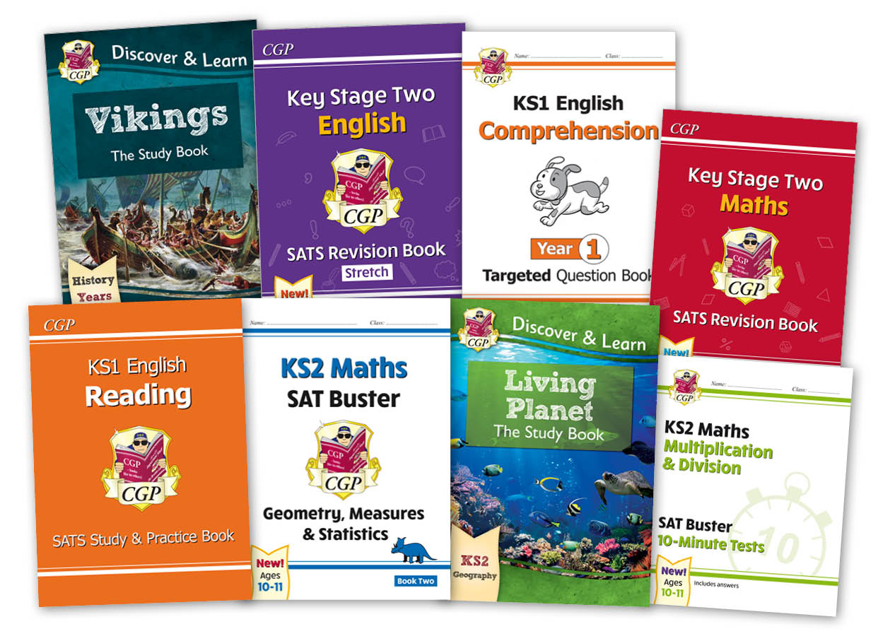CGP's Primary Books