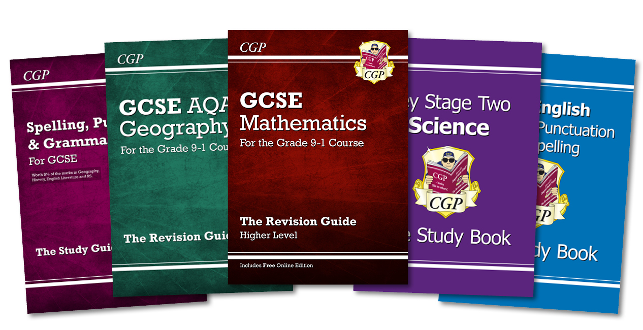 CGP's Revision Guides / Study Books / Study Guides