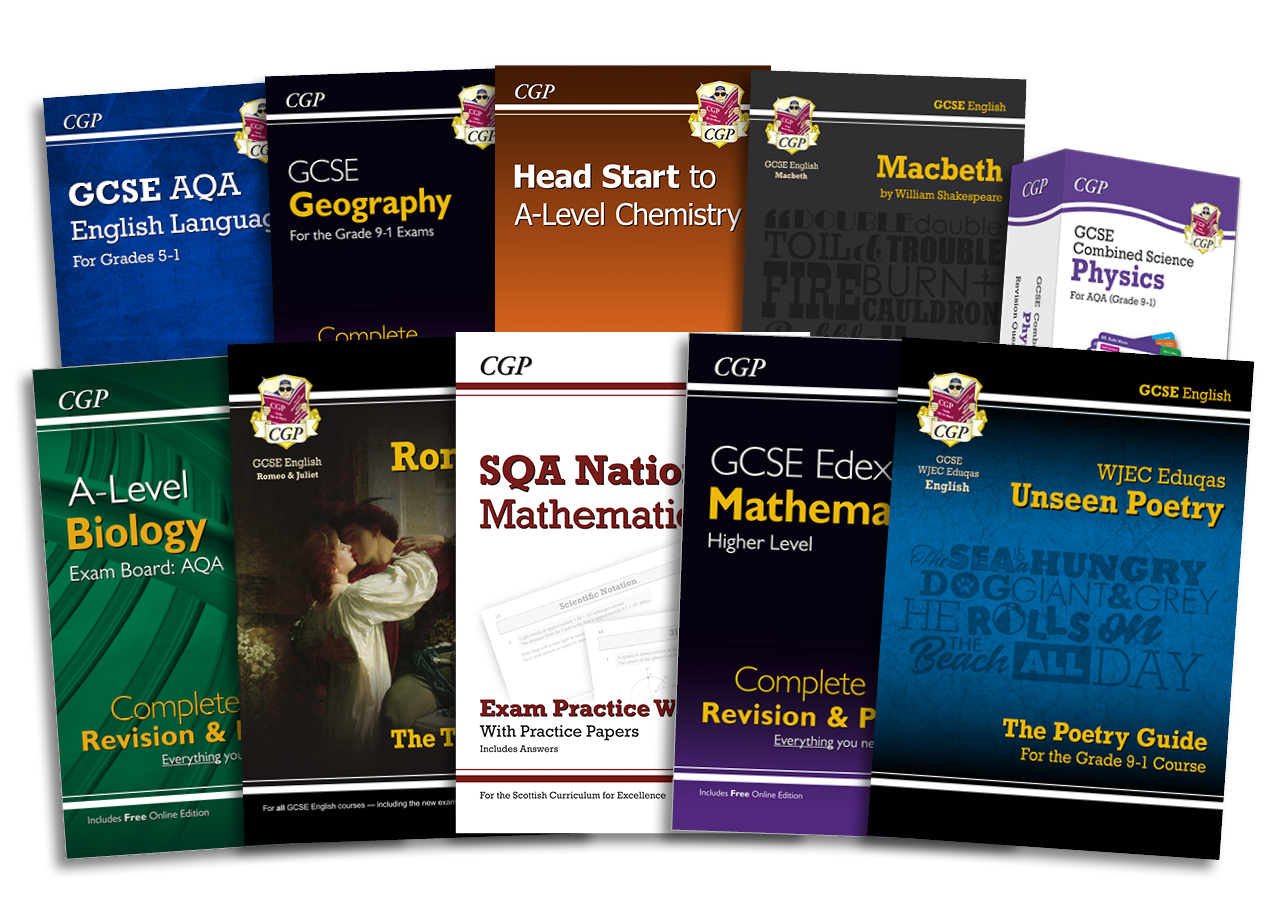 CGP Products Explained | CGP Books