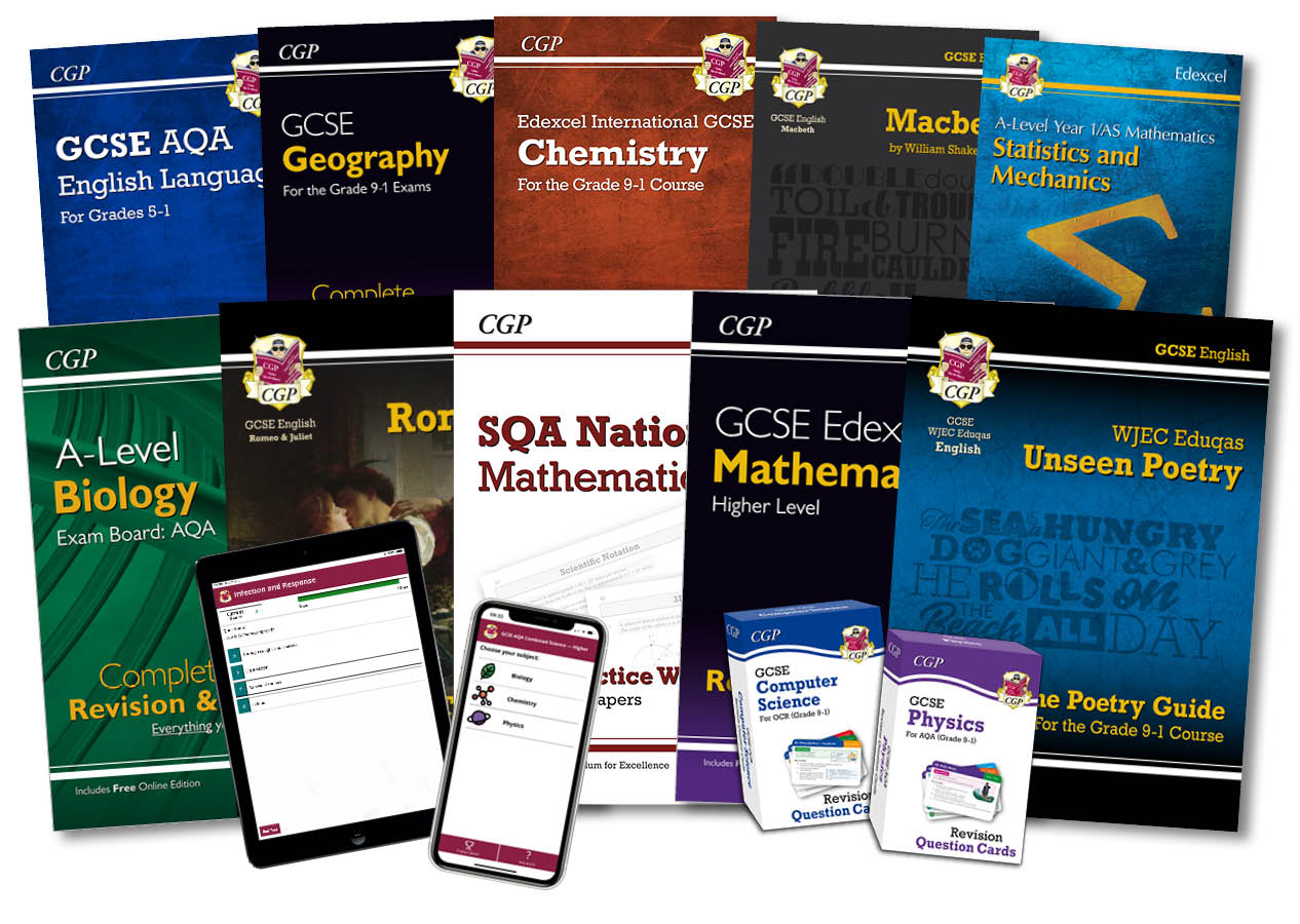 CGP's Secondary Books