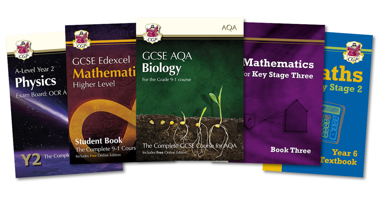 CGP's Student Books and Textbooks