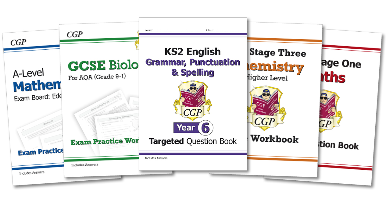 CGP's Workbooks / Question Books