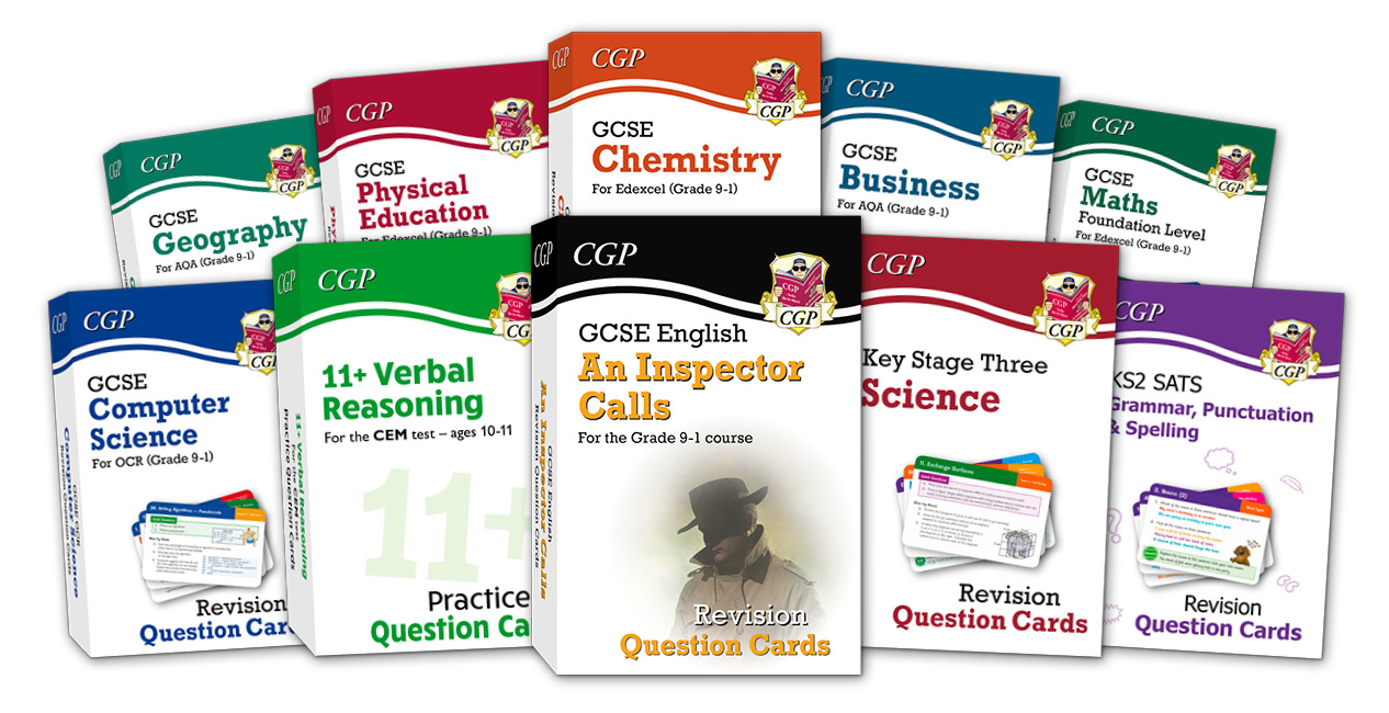 CGP's Revision Cards
