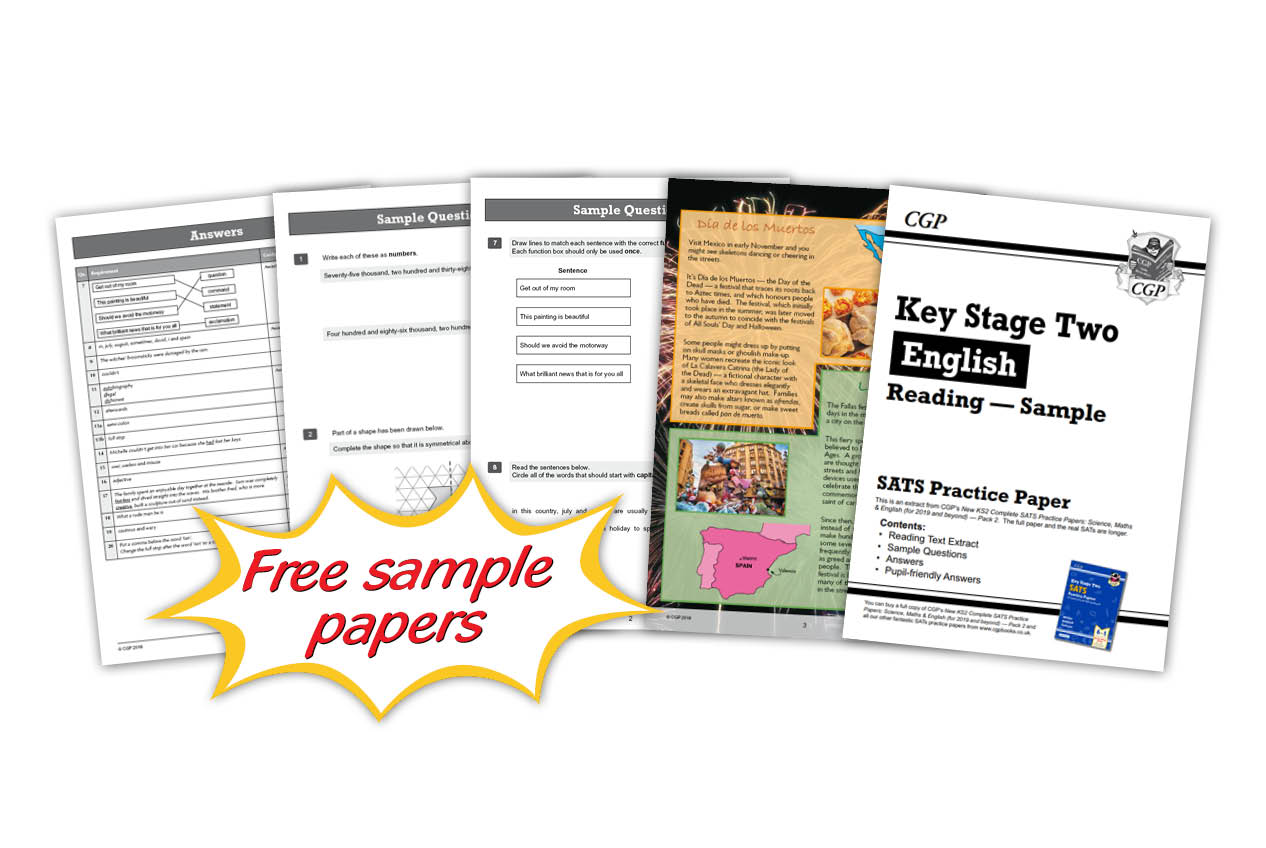 Free SATS Practice Papers