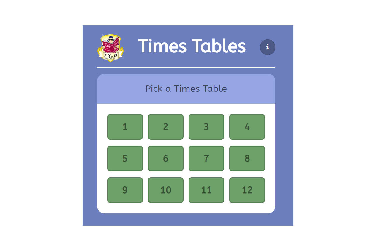Times Table Tester