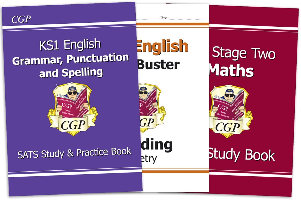 Image result for cgp sats revision books