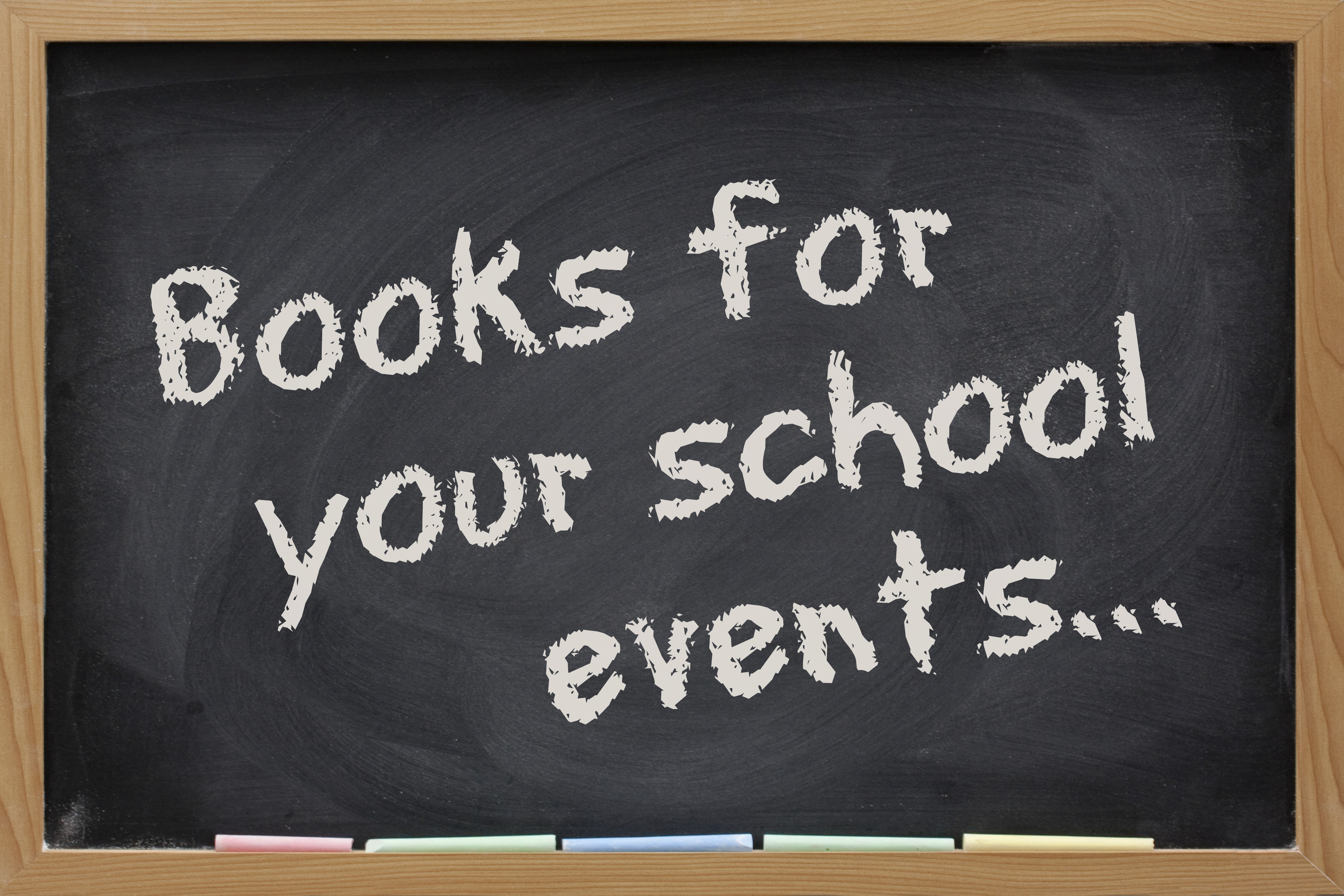 Books for your school events