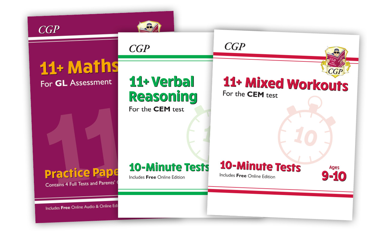 Preparing for the 11+ with CGP | CGP Books