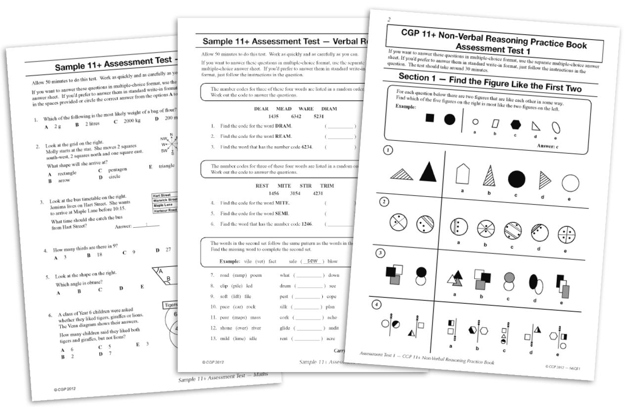 Free 11+ Practice Papers