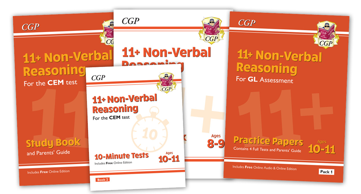 11+ Non-Verbal Reasoning Range from CGP