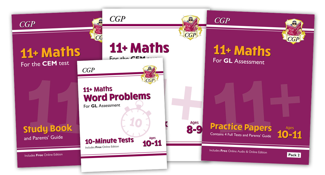 11+ Maths Range by CGP