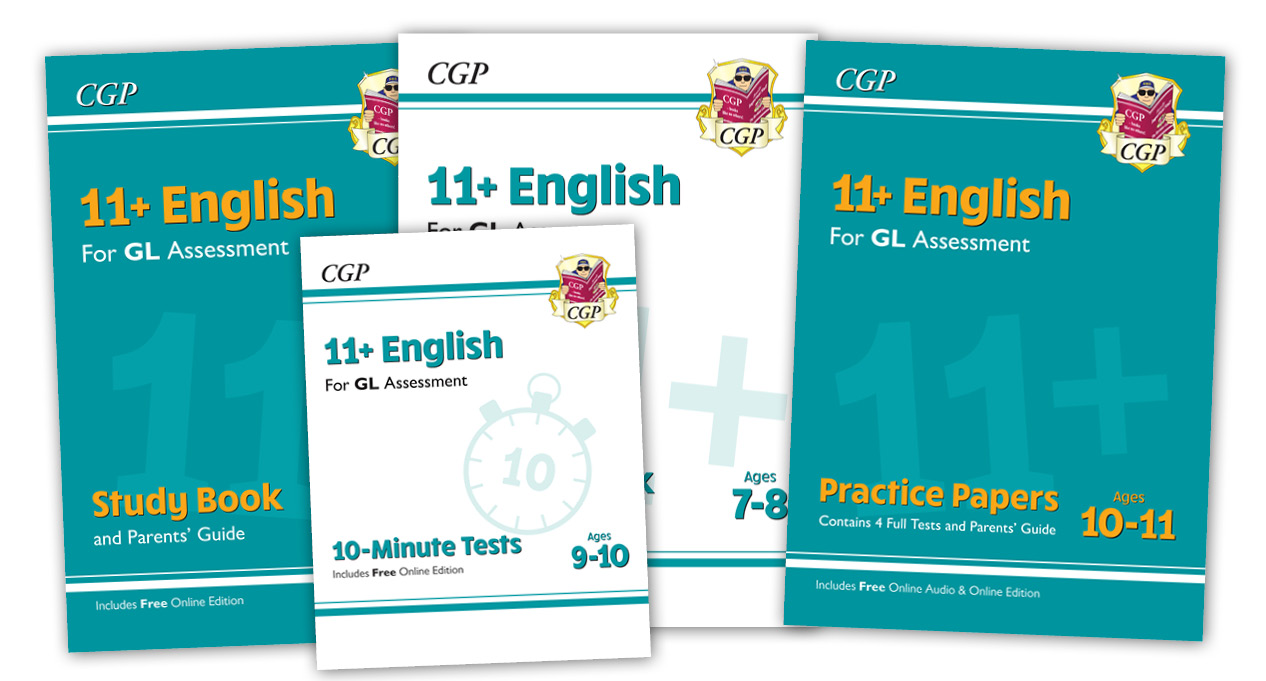 11+ English Range from CGP