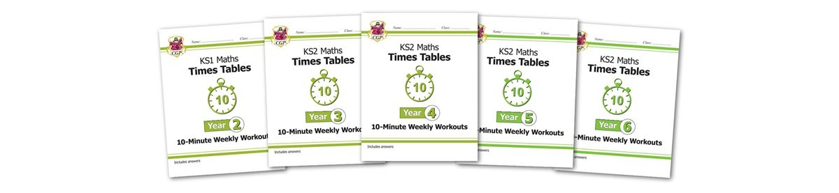 Times Table Tester | CGP Books