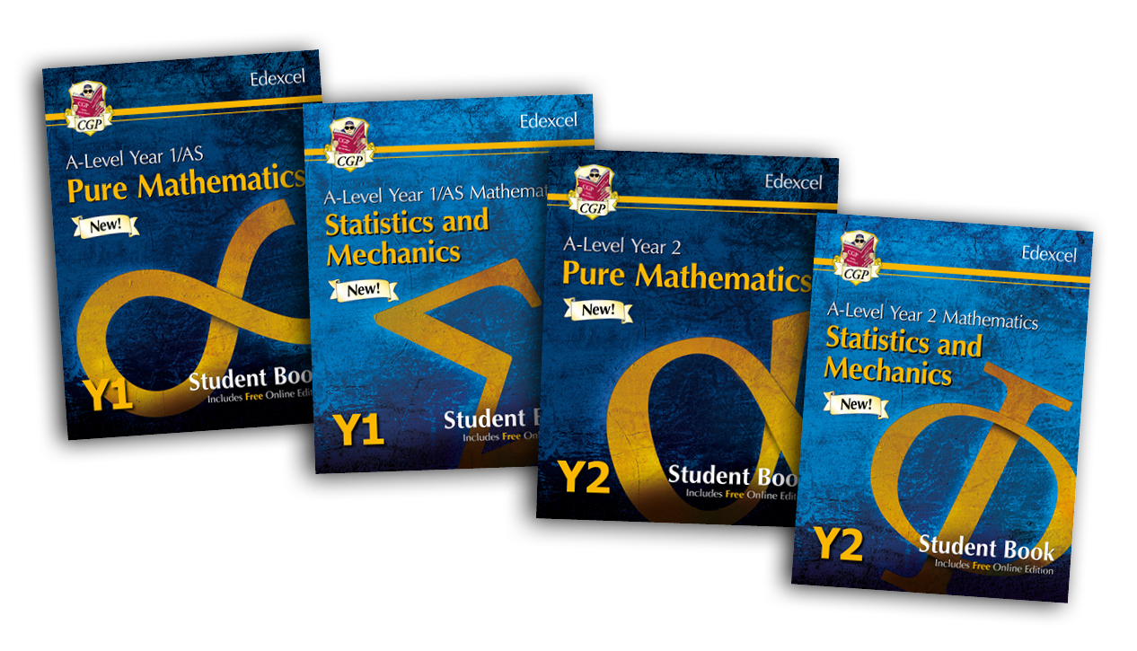 Dazzling new Student Books for Edexcel A-Level Maths