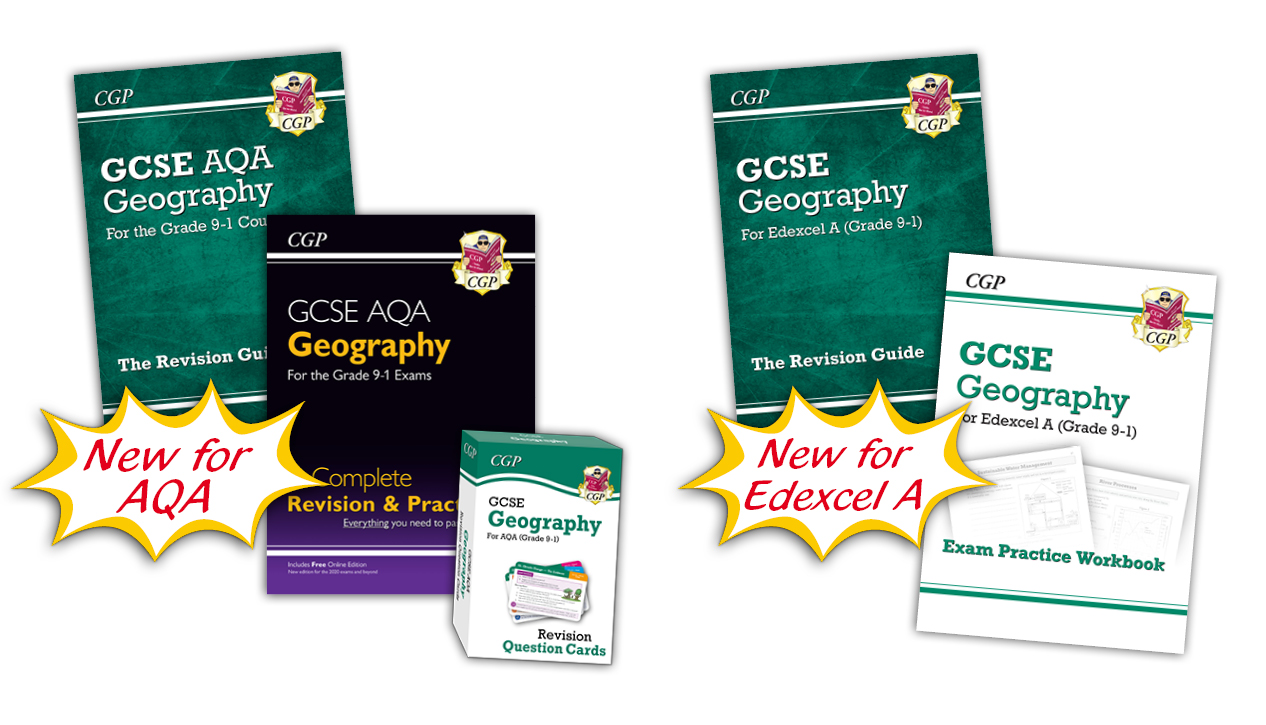 New GCSE Geography for AQA and Edexcel A