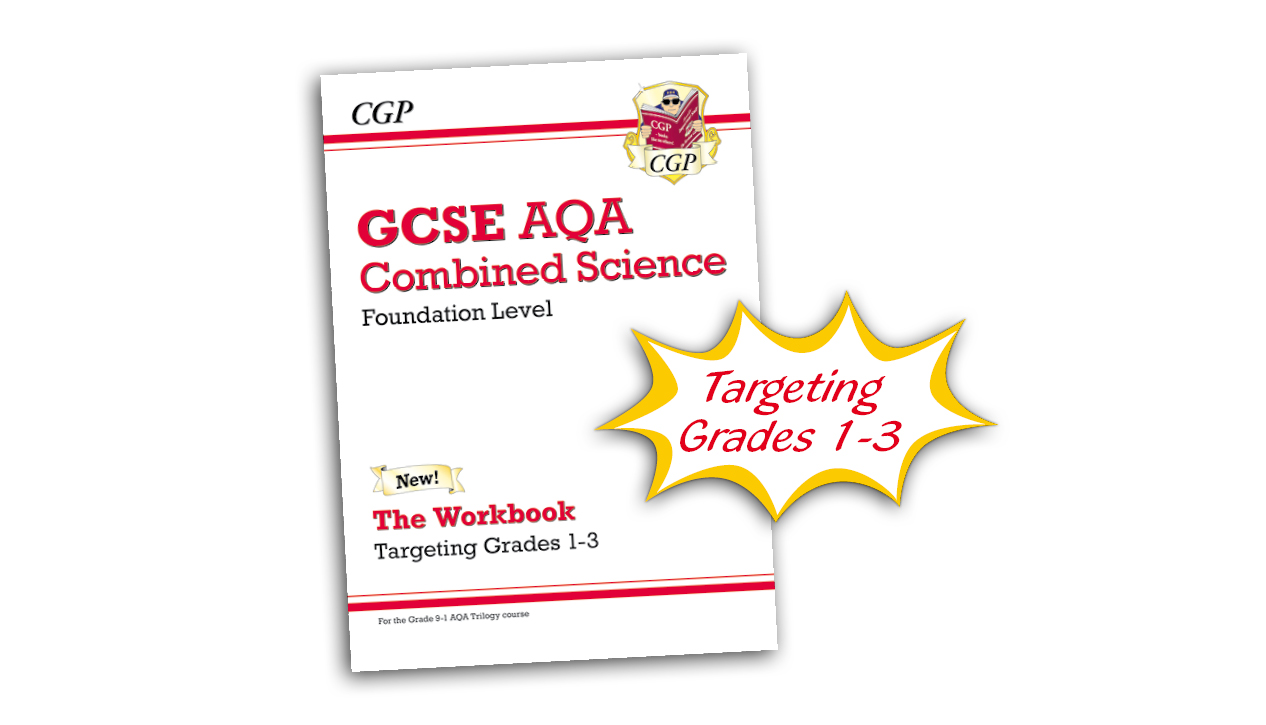 CGP's new Grade 1-3 Workbook for GCSE Combined Science