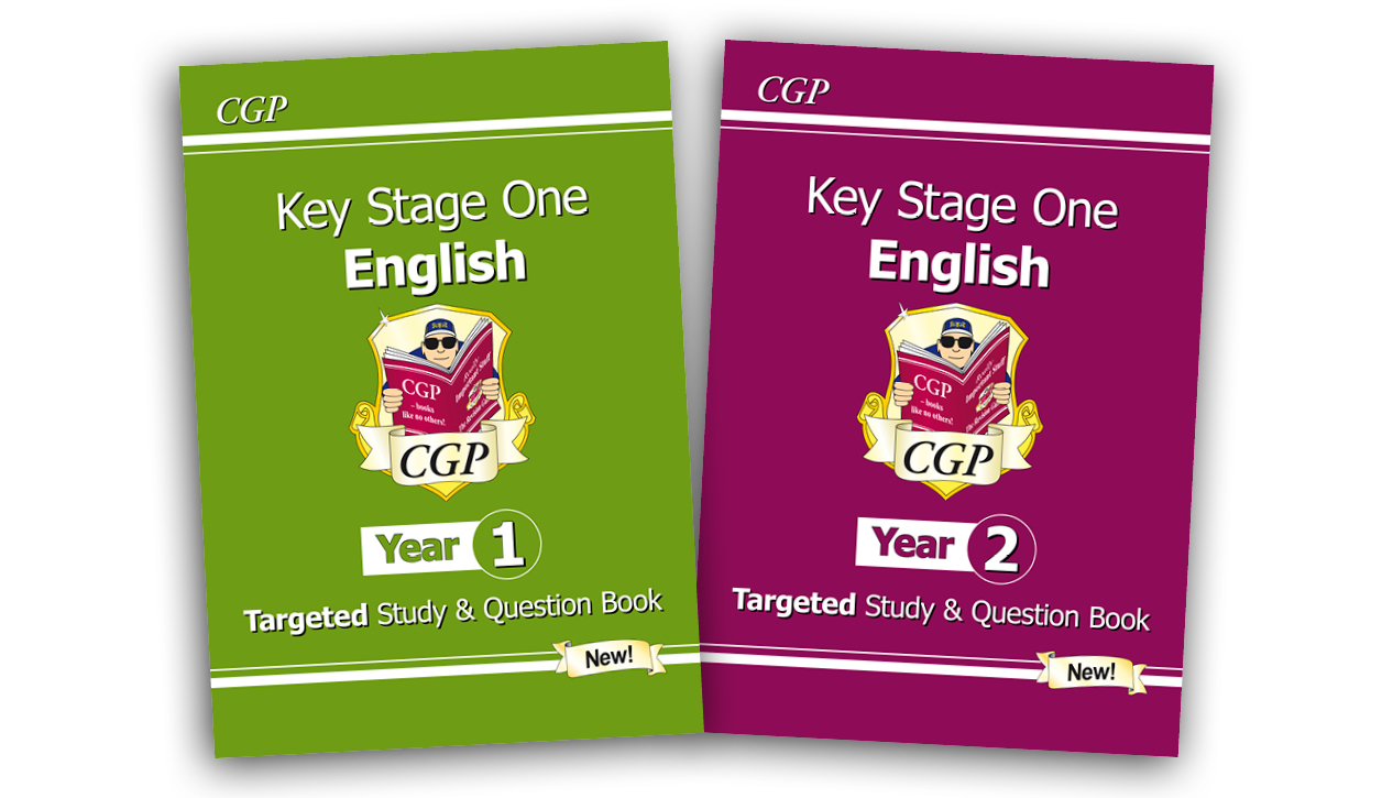 KS1 English Targeted Study & Question Books