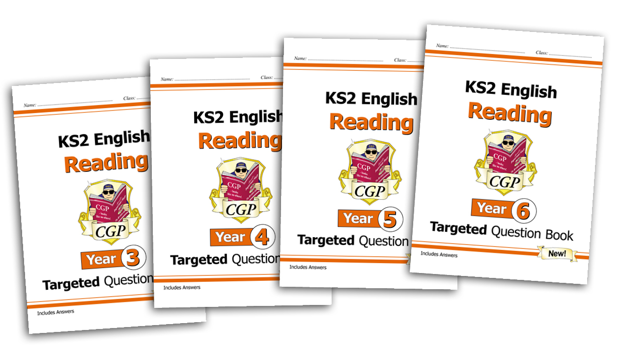 Superb Targeted Question Books for KS2 English Reading