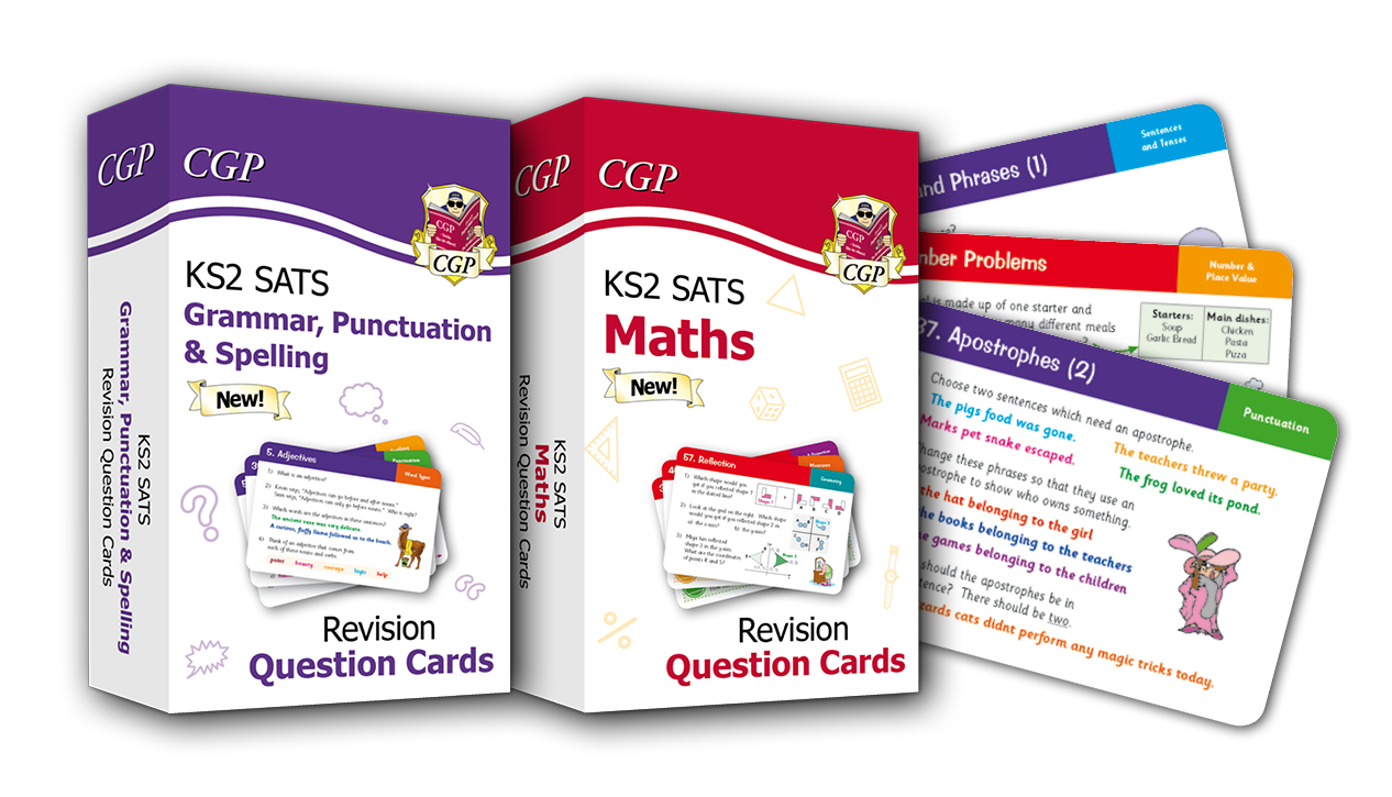 New KS2 SATS Revision Question Cards from CGP