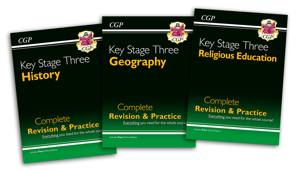 New CGP Complete Revision & Practice for KS3 Humanities