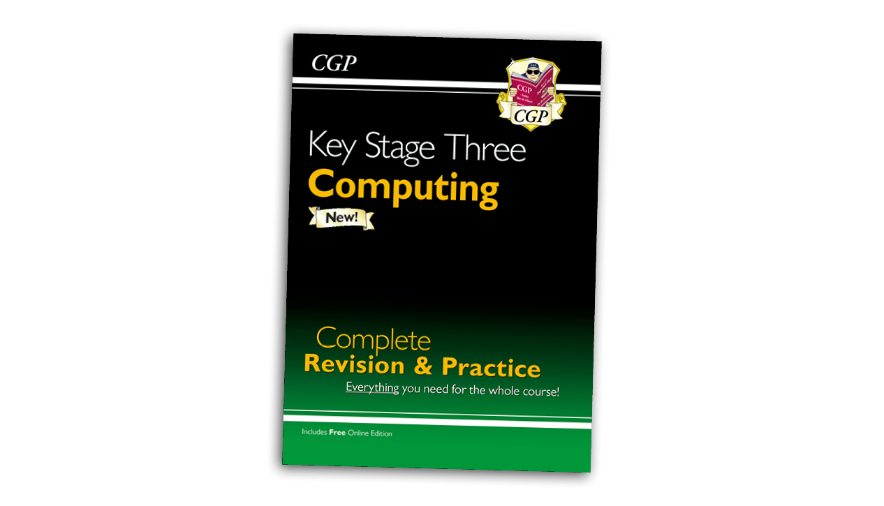 New KS3 Computing Complete Revision & Practice from CGP