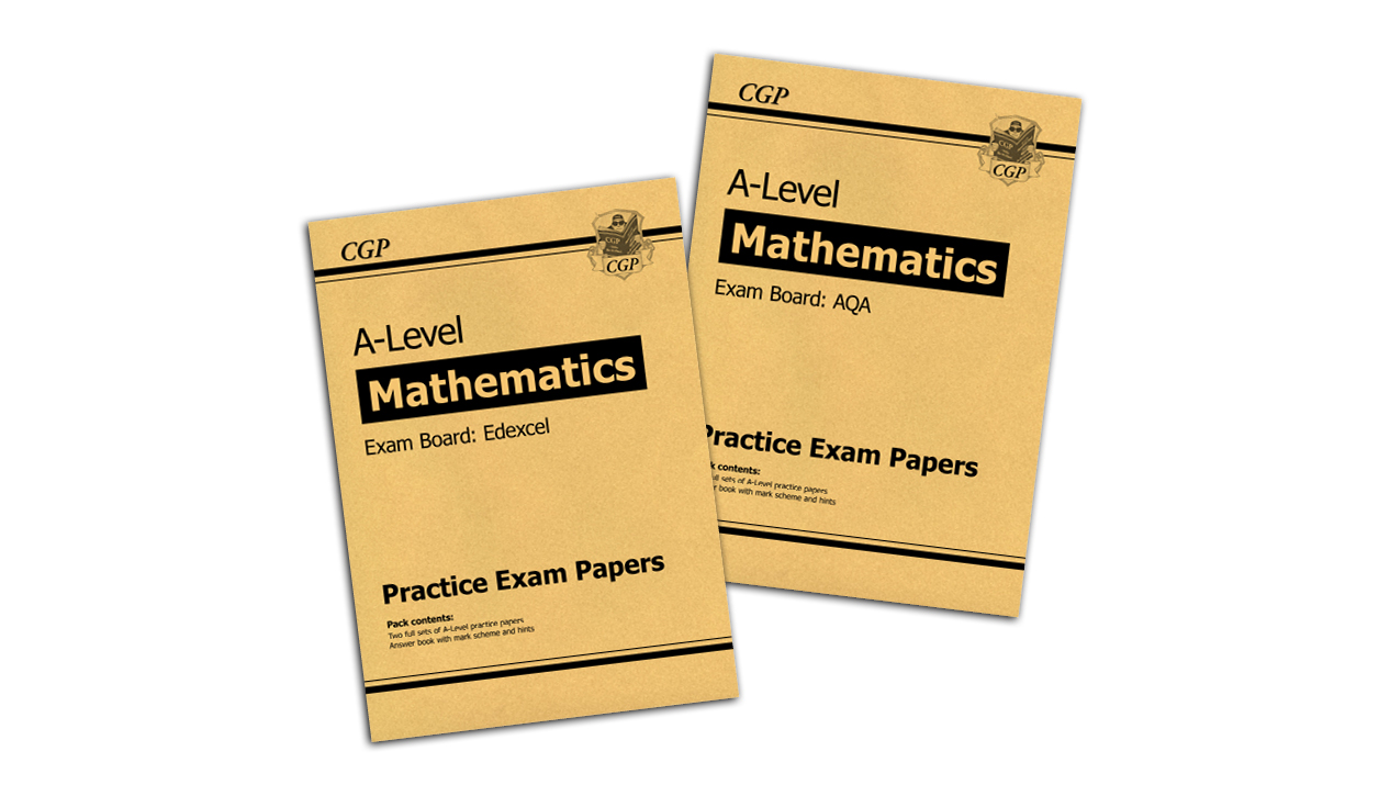 CGP A-Level Maths Practice Papers