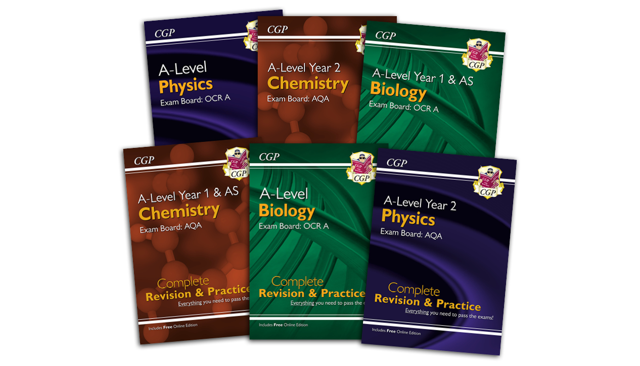 CGP A-Level Science — Complete Revision & Practice