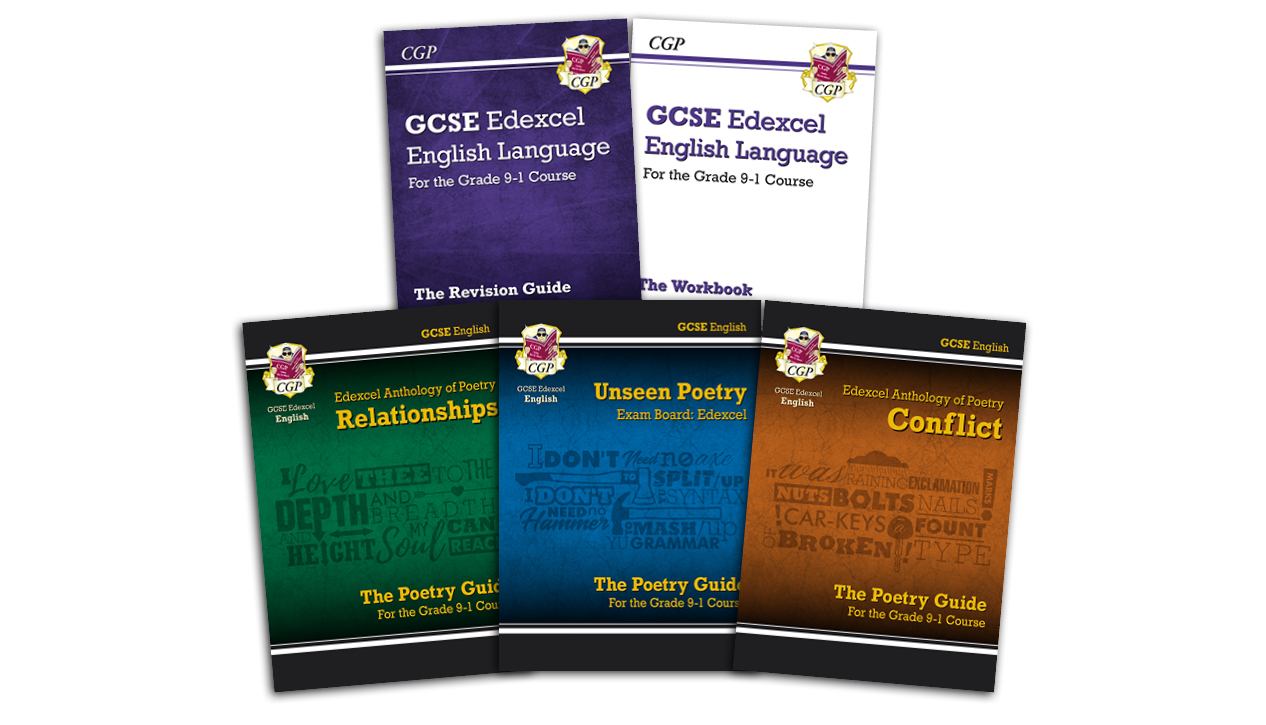 CGP GCSE Edexcel English Language and Literature