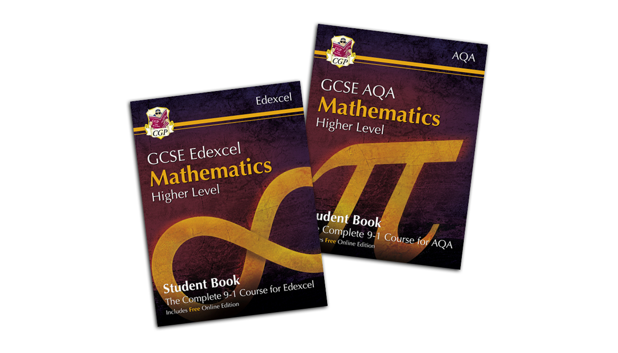 CGP GCSE Maths Student Books