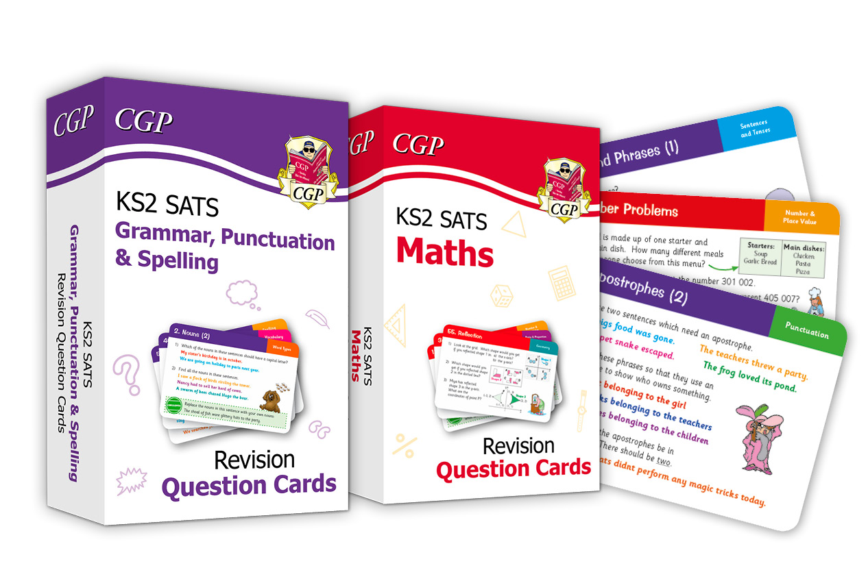 Amazing SATS Revision Question Cards