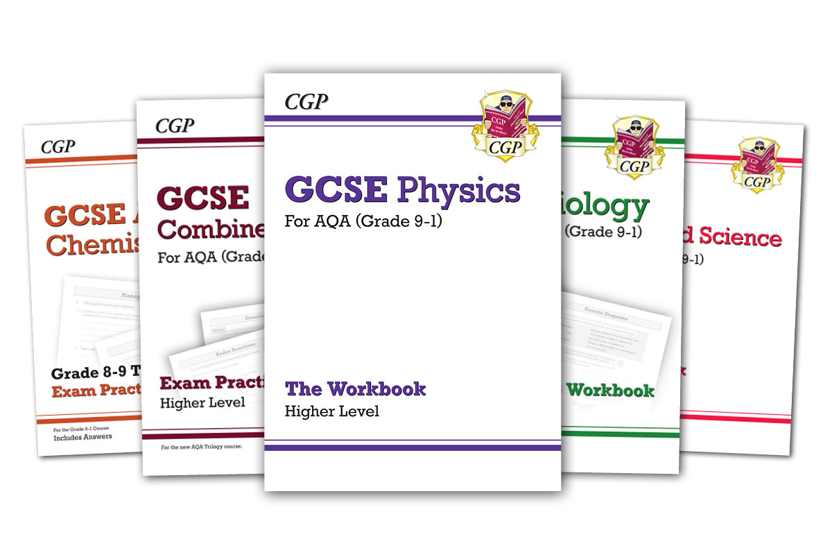 KS3, GCSE & A-Level Books | CGP Books