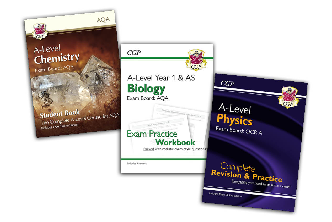 CGP has the key to A-Level Science success...