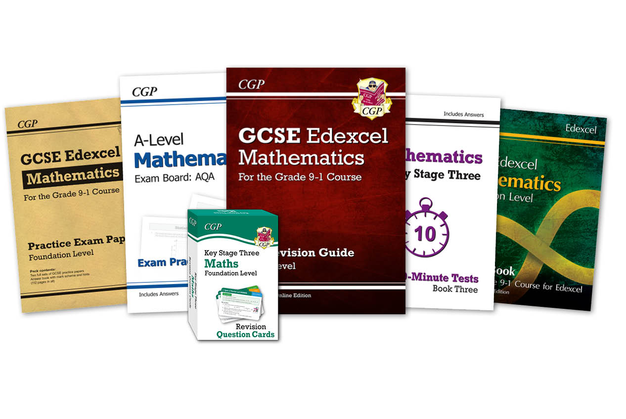CGP has secondary Maths completely covered!