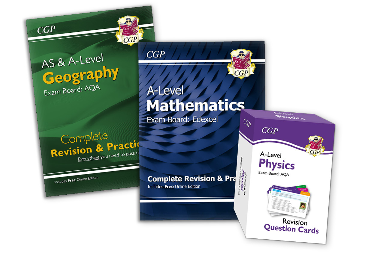 Get ready for starting A-Level with CGP