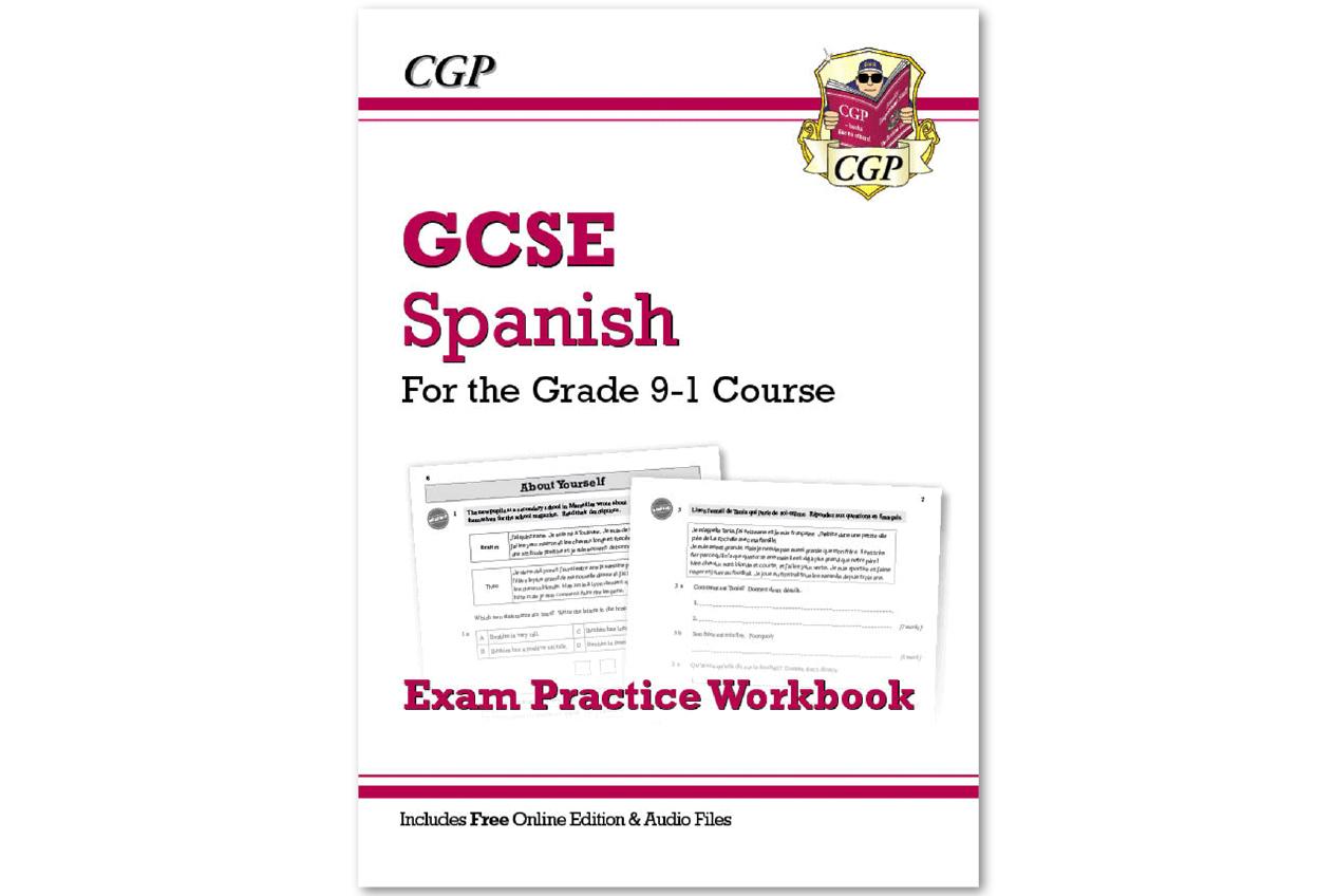 Free audio files for Grade 9-1 GCSE Spanish   CGP Books
