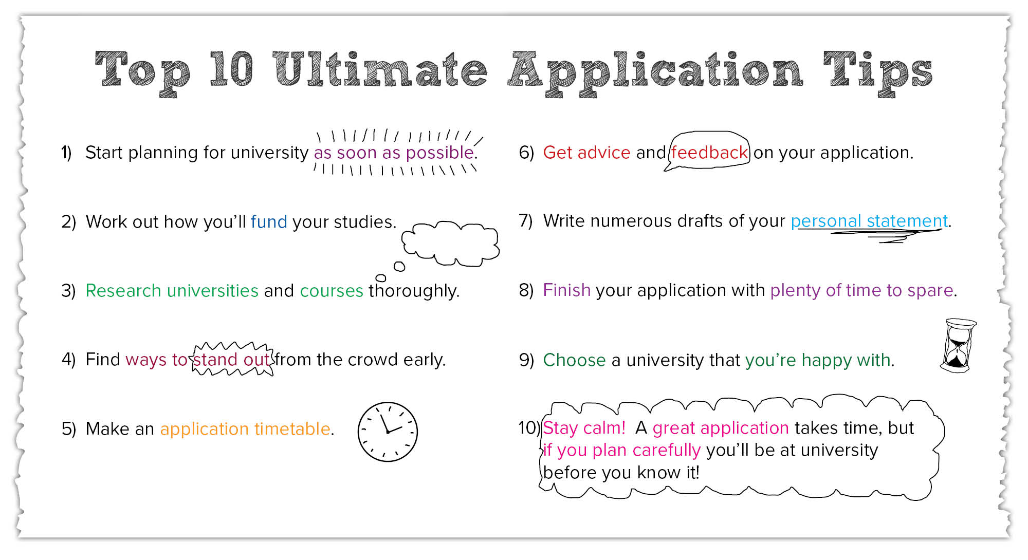 Top 10 Ultimate Application Tips
