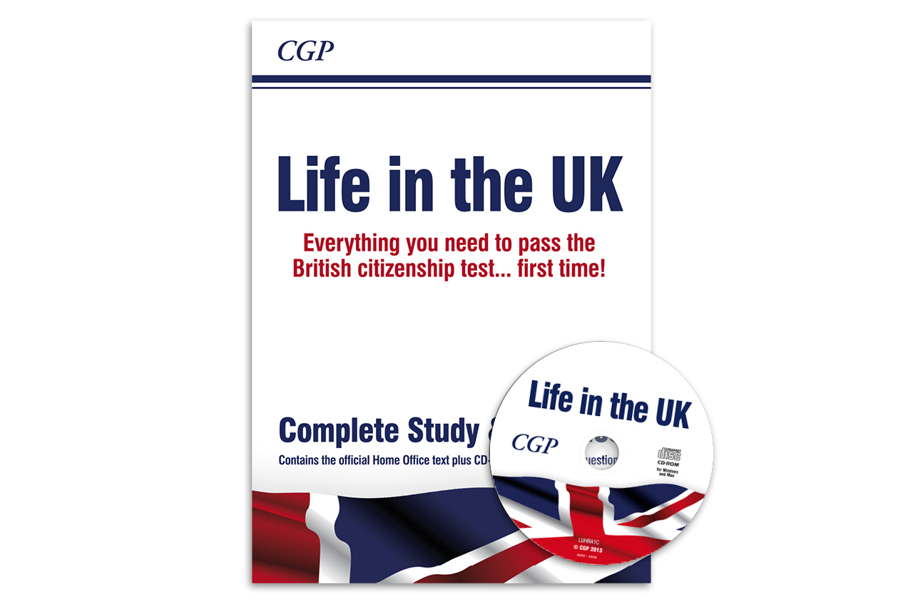 CGP Life in the UK Complete Revision and Practice Book and CD