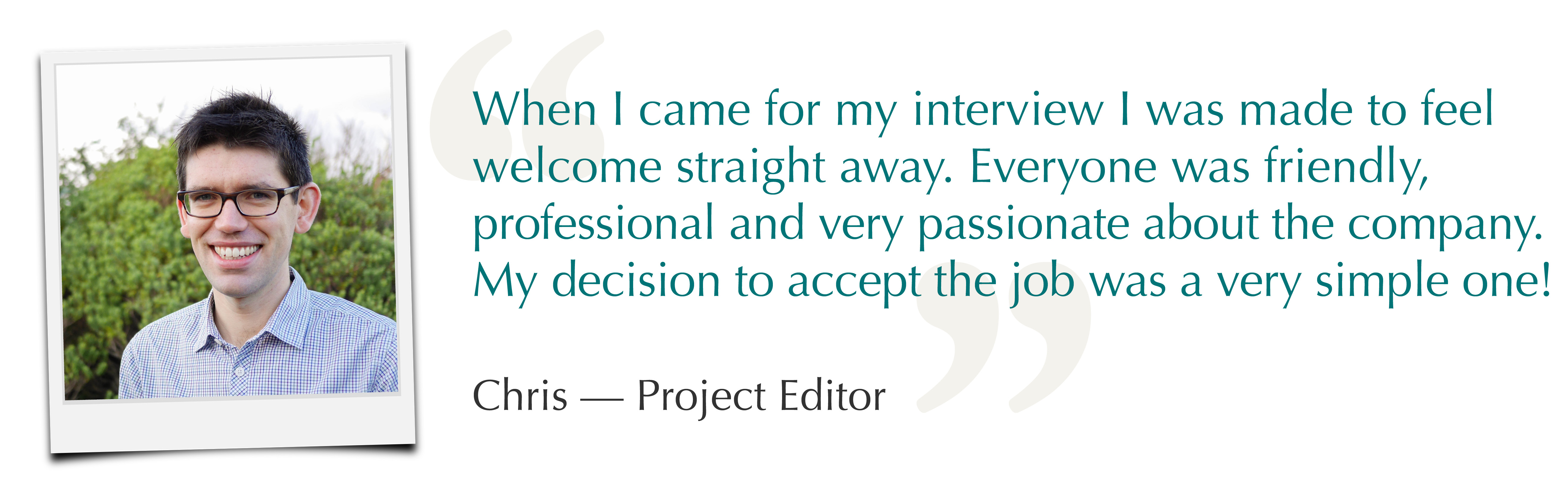 Chris - Project Editor